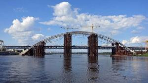 подольский мост с воды