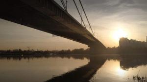Северный мост с воды