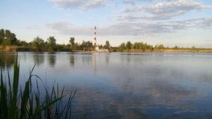 Вид с озера Тягле